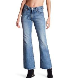 Levi's high rise vintage flare jeans